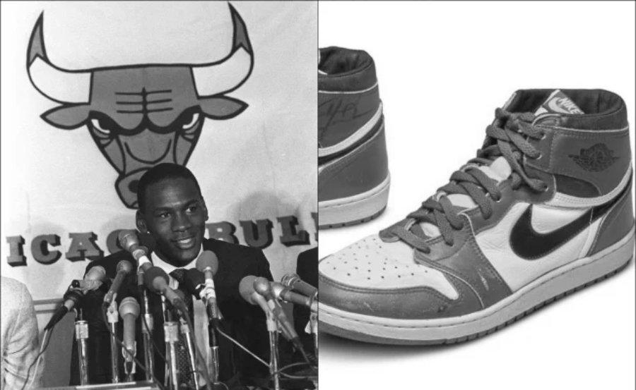 Michael Jordan Sneakers Break Sales Record