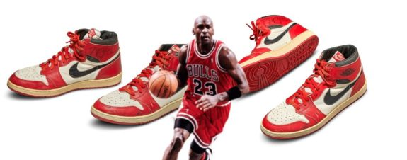 Michael Jordan Sneakers Auctioned for Over Half a Million