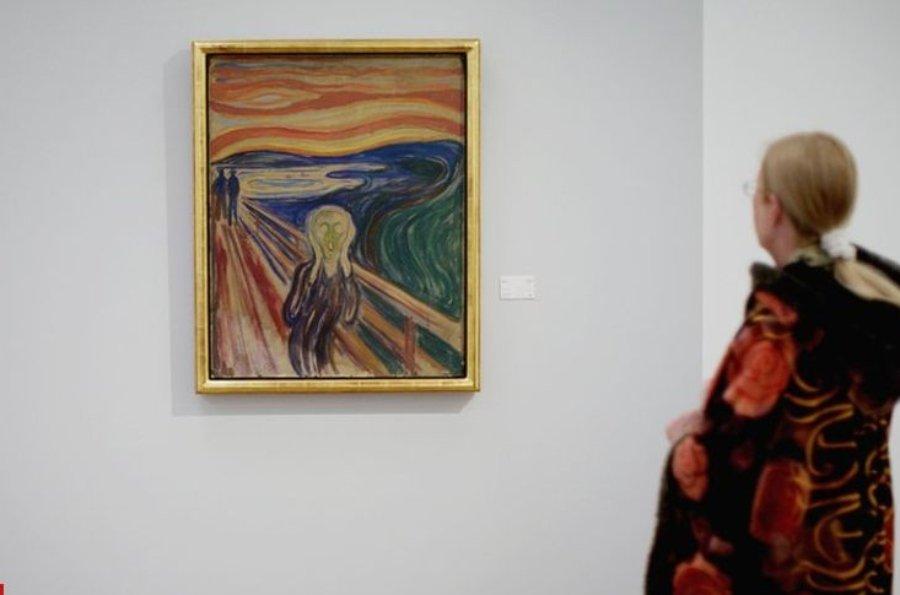 La pintura de 1910 se deteriora con la luz y la humedad