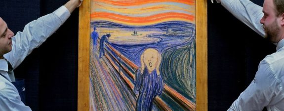 The Scream de Edvard Munch está en deterioro