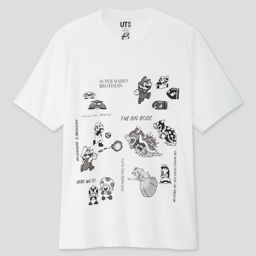 Uniqlo y Super Mario