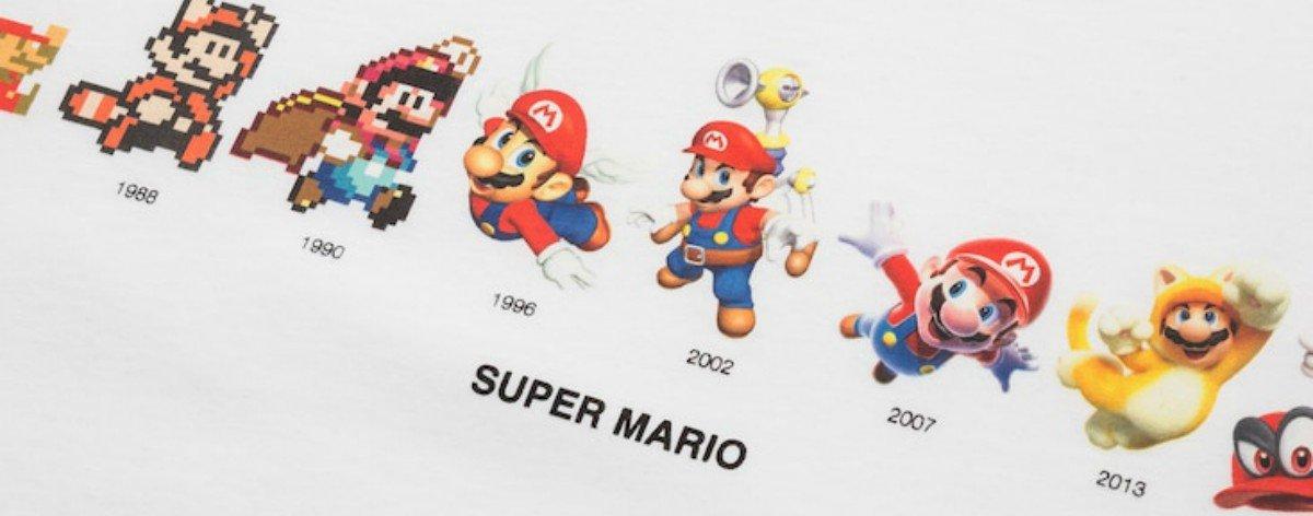 UNIQLO y Super Mario Bros lanzan colección gráfica