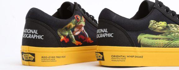 Vans y National Geographic lanzan colección de sneakers