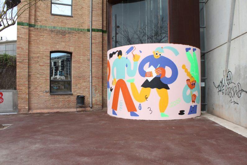 El proyecto presenta a Emily Eldridge con nuevo mural