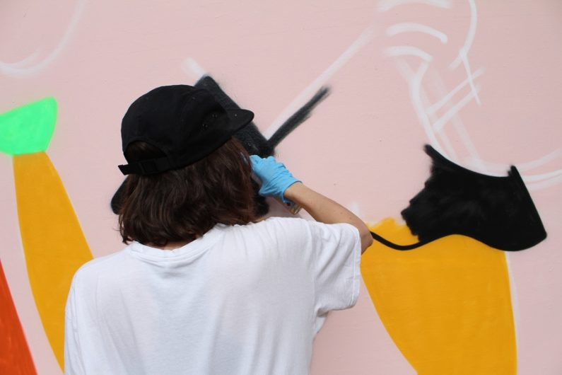 Wall Claim preseta a Emily Eldridge con nuevo mural