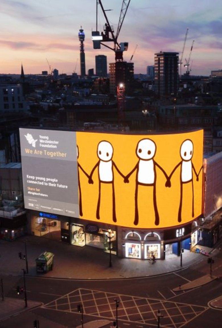 We Are Together, lo nuevo de Stik en Londres