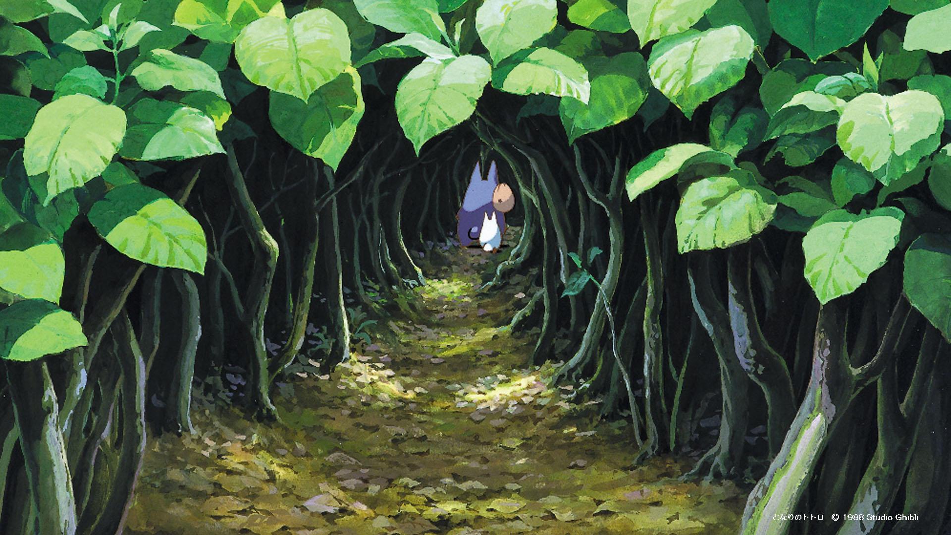 Studio Ghibli background