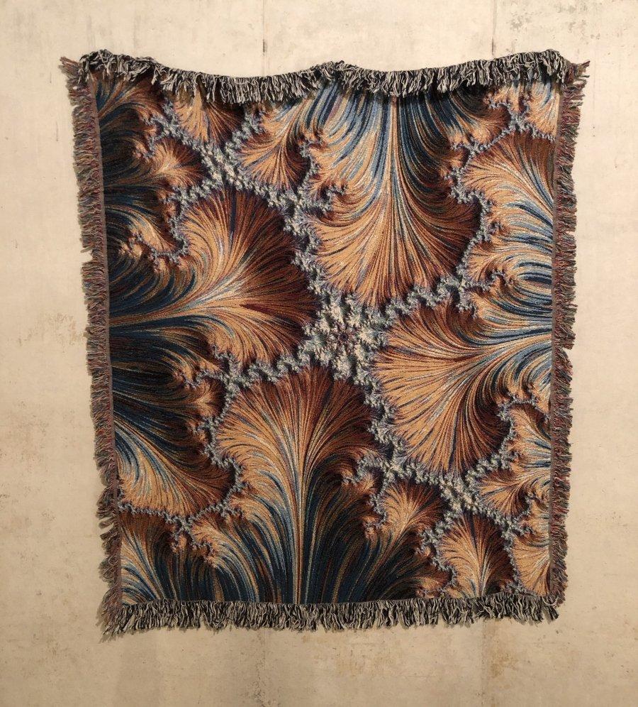 Zouassi el rey del arte digital y los tejidos fractales