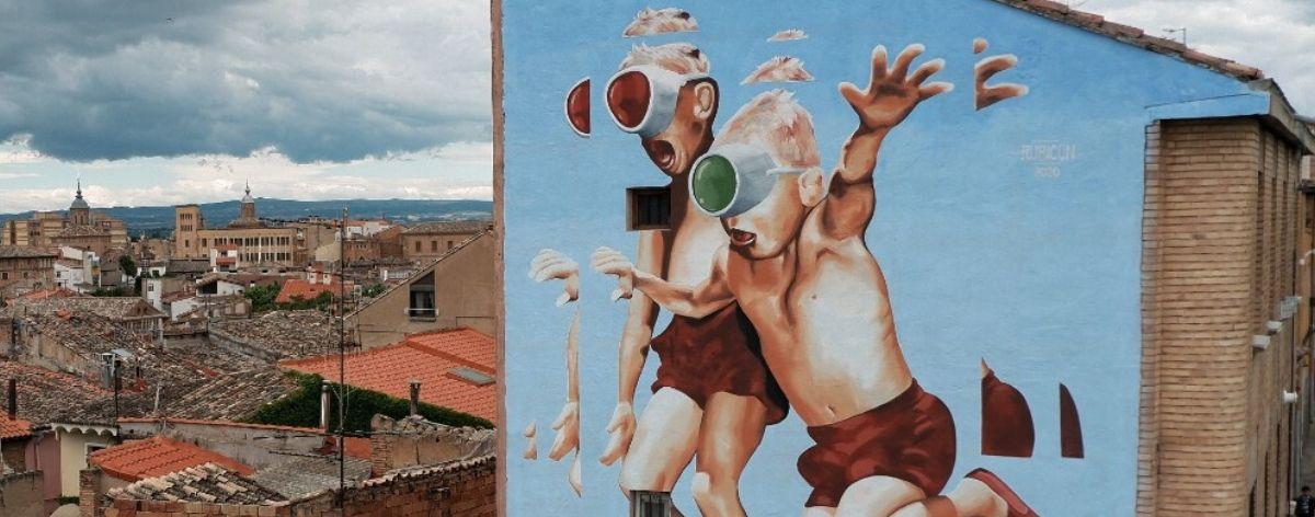 Murales en Avant Garde Tudela: RECAP de la edición 2020