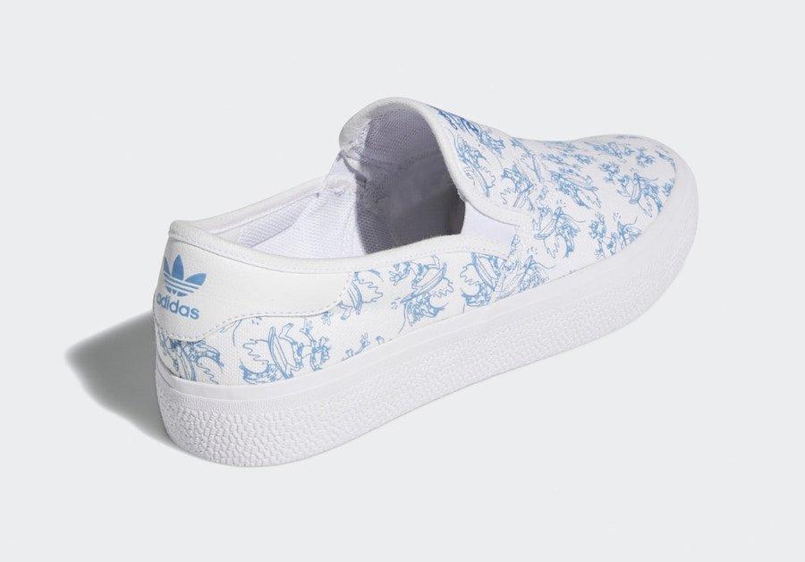 apariencia de las zapatillas 3MC de Adidas y Disney
