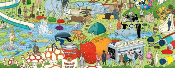 Andy Warhol llega a las páginas de Where's Waldo