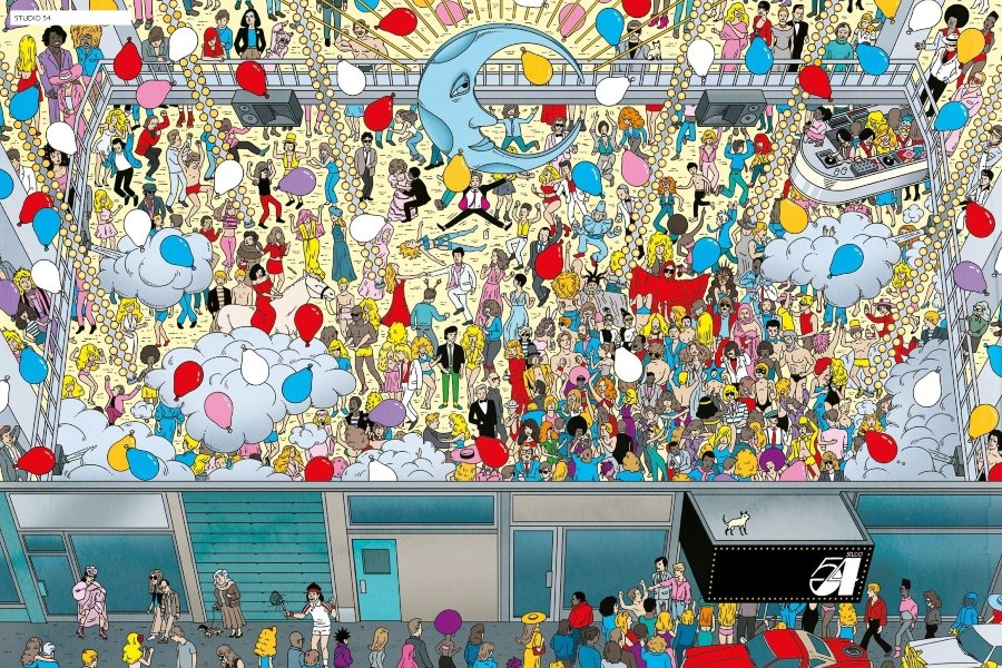 "Andy Warhol se cuela hasta las páginas de ""Where's Wally"""
