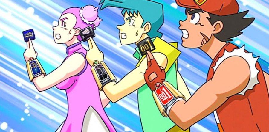 personajes de la serie animada que promueve el uso del condón
