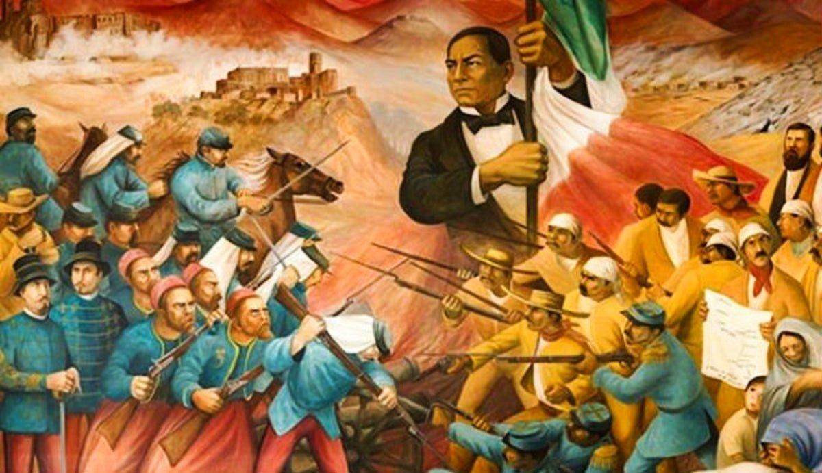 """""""Entrada Triunfal de Benito Juárez a la Ciudad de México"""", (15 de julio de 1967)"""