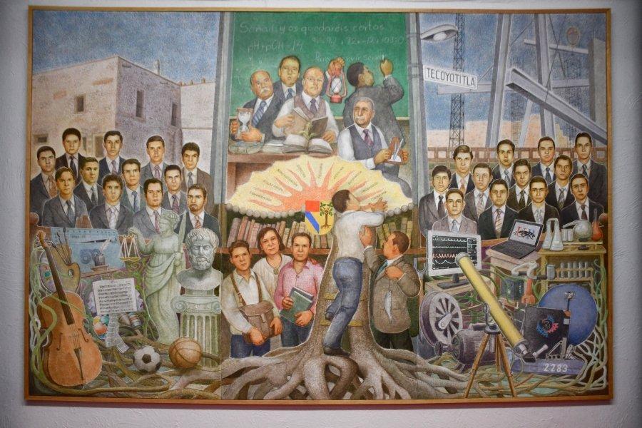 Mural de Antonio González Orozco