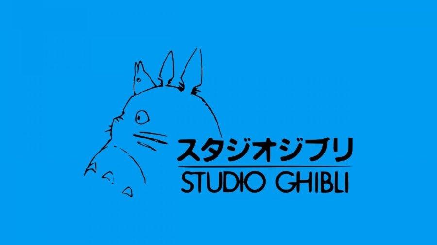 Totoro, logotipo oficial de Studio Ghibli
