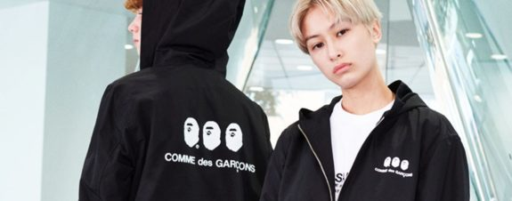 BAPE x COMME des GARÇONS y su nueva colección