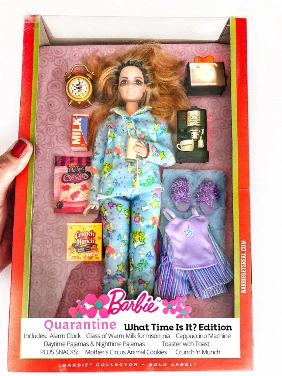 Barbies en cuarentena por Tonya Ruiz