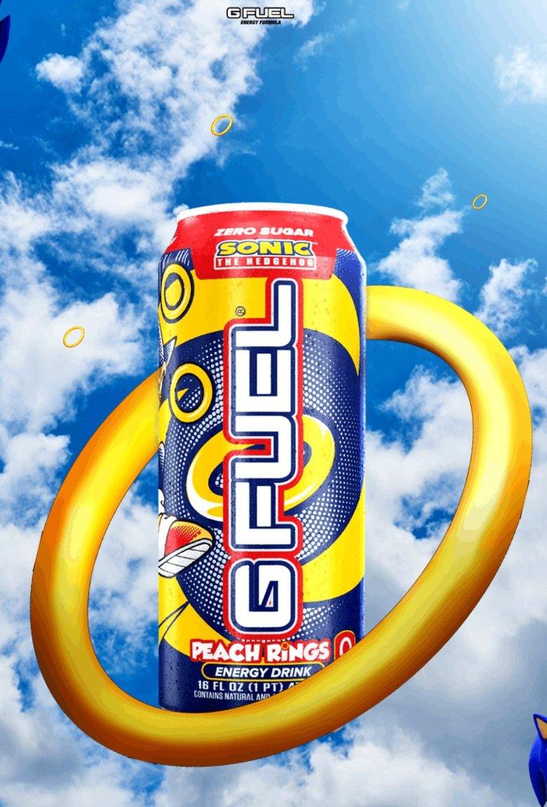Bebida energética de Sonic para celebrar su cumpleaños