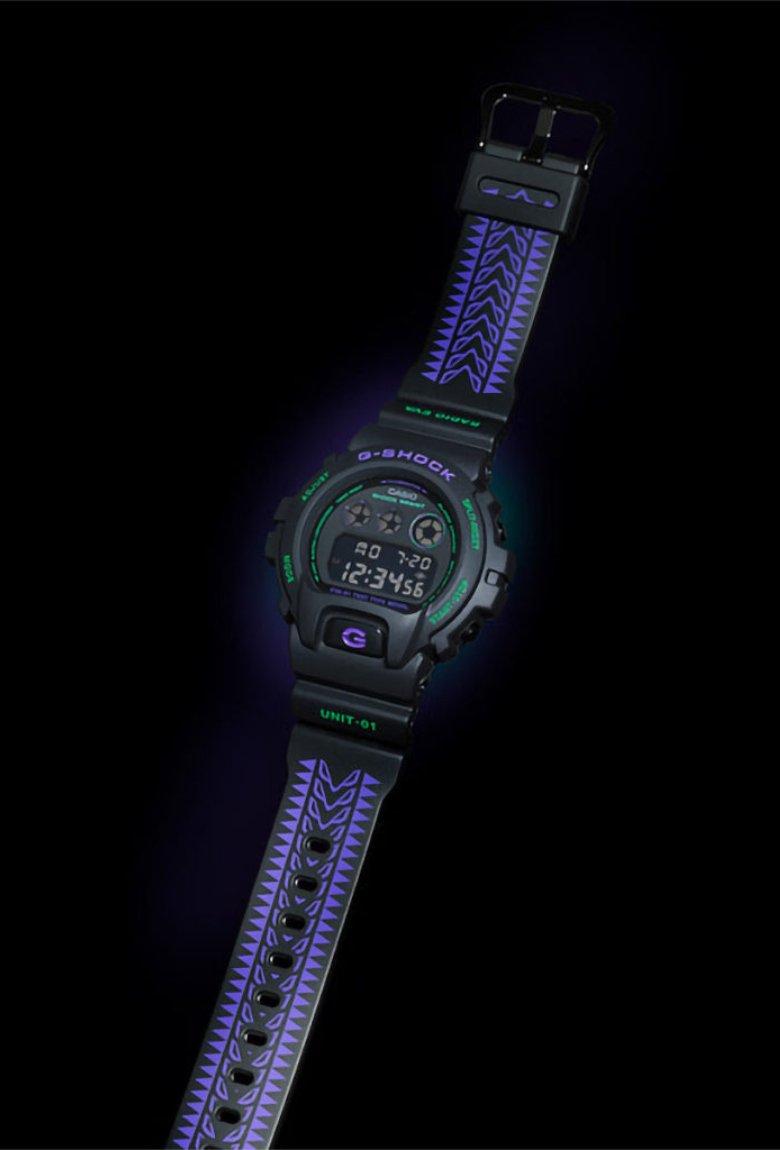 Casio y Evangelion lanzan G-Shock del Eva 01
