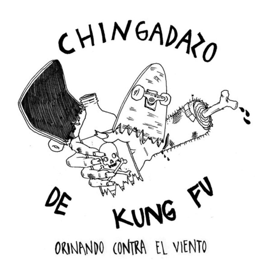 Portada Orinando contra el viendo de Chingadazo de kung Fu