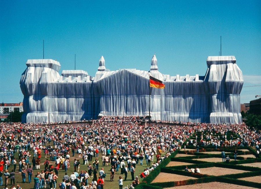 Instalación del artista en Alemania