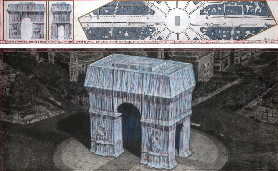 Christo, el artista que vistió lugares en el mundo
