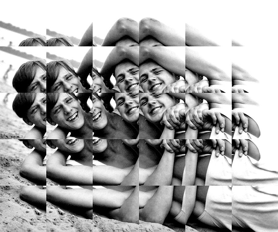 """Collage fotográficos por Edouard Taufenbach de la serie """"Suddenly, Last Summer"""""""
