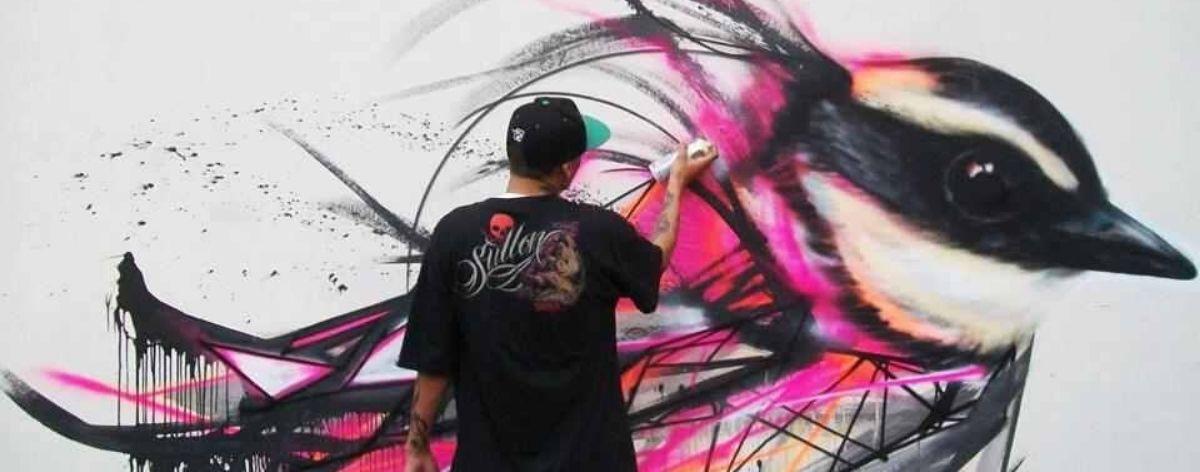 Concurso de graffiti #STAYHOMEDOART