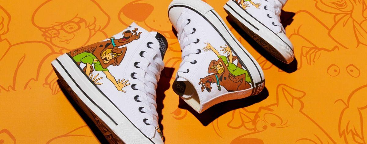 Scooby-Doo y Converse lanzan colección misteriosa
