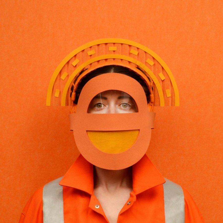 Cubrebocas inspirados en la ciencia ficción por Freyja Sewell