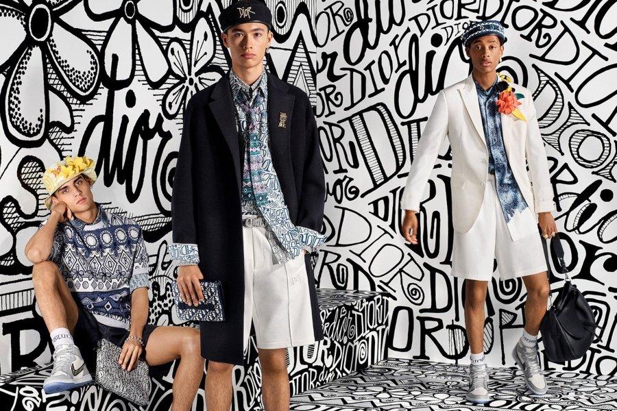 Parte de la colección de Dior lanzada en conjunto a la tabla de surf de Dior