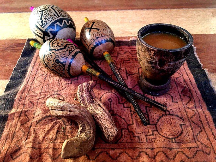 El DMT es la sustancia activa de la ayahuasca