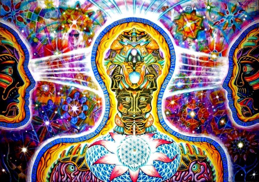 DMT la muerte del ego y el viaje psicodélico