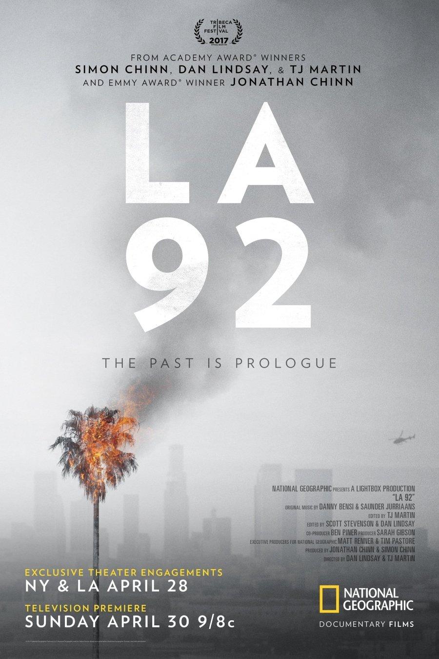 Documentales sobre el racismo / Portada de LA 92