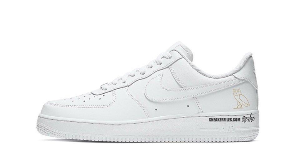 Posible diseño de los tenis de Drake x Nike