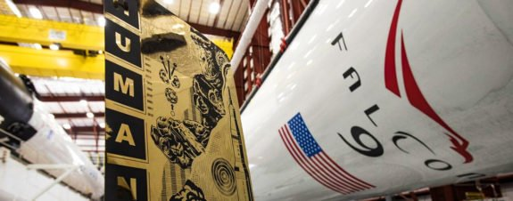 SpaceX and NASA take Tristan Eaton pieces to space