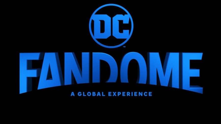 Logo oficial de Fandome, el evento de DC comics y Warner Media desde casa