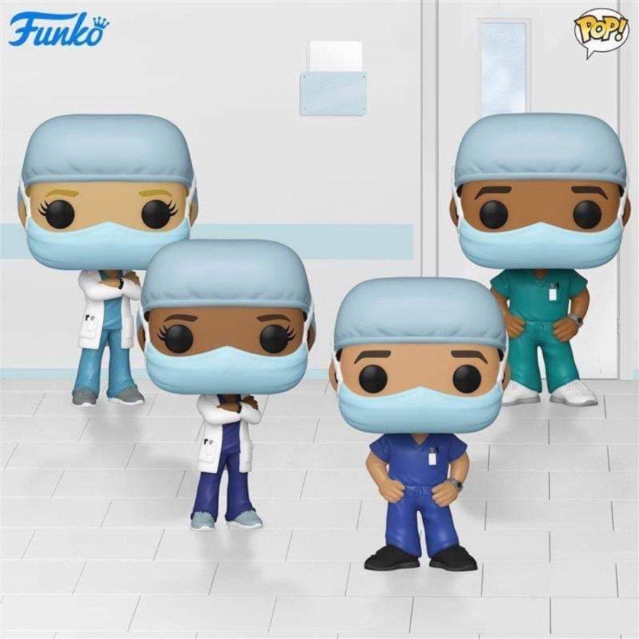 Funko rinde homenaje a doctores y enfermeros con su propia figura