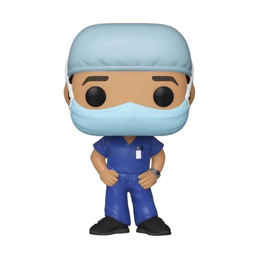 Figura Funko Pop de doctor en homenaje a doctores vs el Covid-19