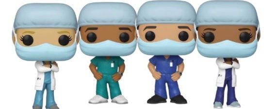 Funko rinde homenaje a doctores en época de Covid-19