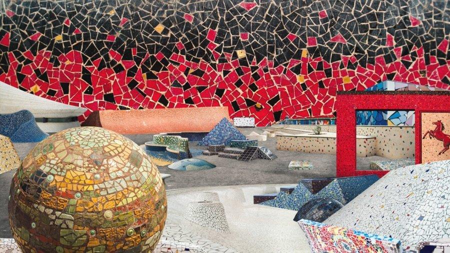 Spot de mosaico para el proyecto GRRRND Zero
