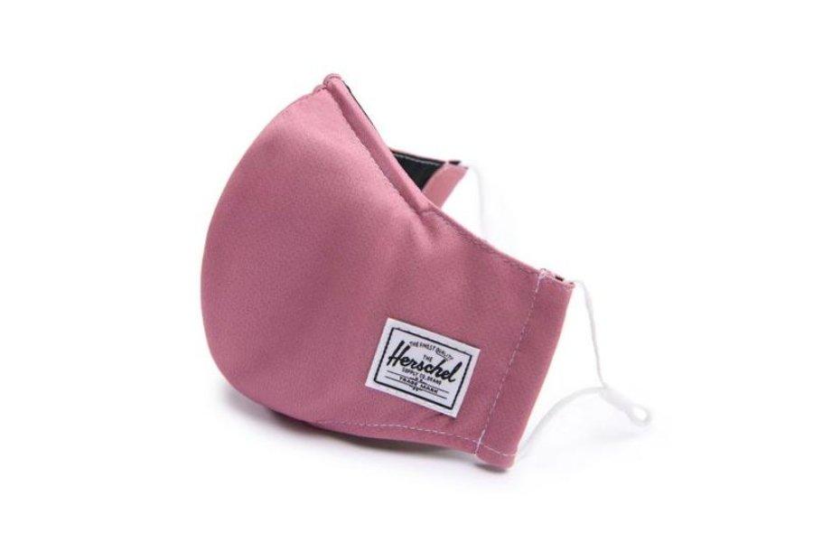 Mascarilla color rosa de Herschel