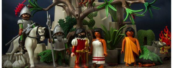 Historia de México en versión Playmobil