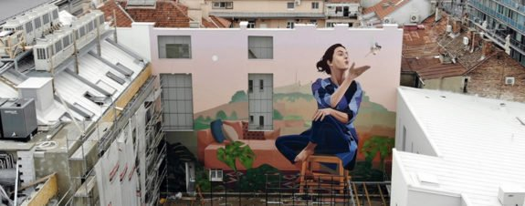 Hometown, Artez's new mural in Belgrade