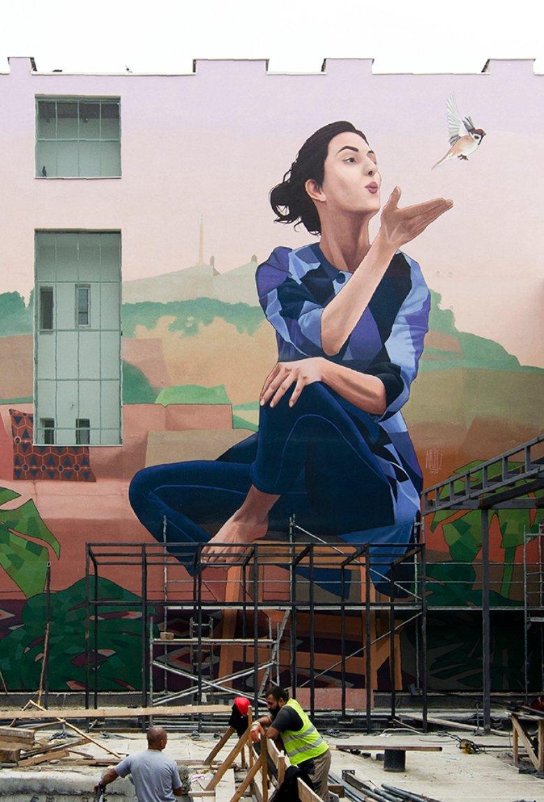 Hometown, Artez's new mural in Belgrade