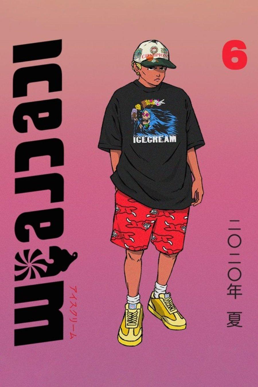 Lookbook inspirado en el manda de la colección IceCream 2020 de Billionaire Boys Club