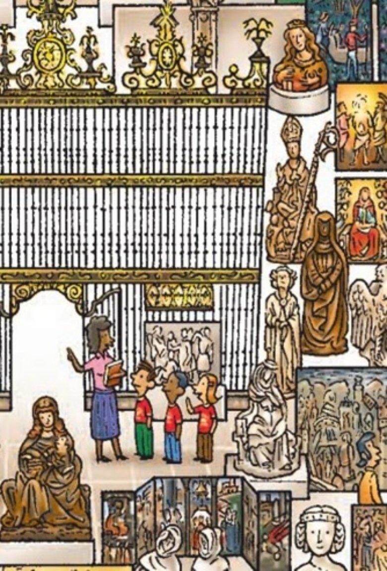 John Kerschbaum ilustra las colecciones del MET