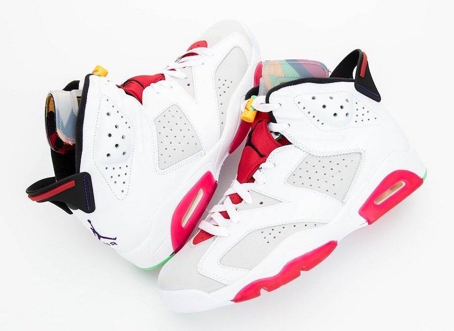 Apariencia final de las nuevas zapatillas Jordan 6 Hare