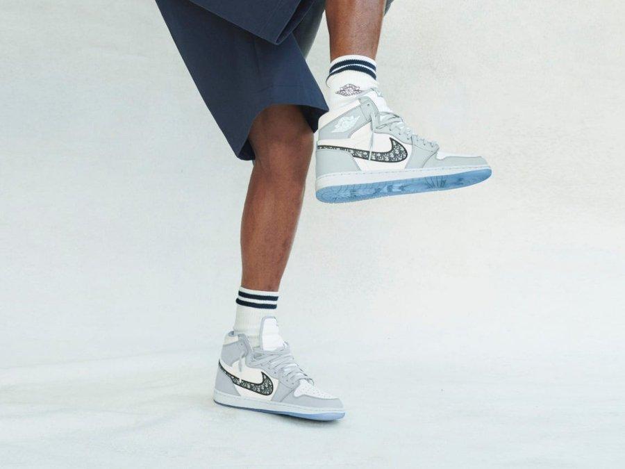 Air Jordan 1 colaborativos con Dior